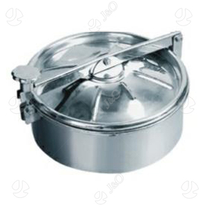 Stainless Steel Without Pressure (Upper Seal) Round Manways