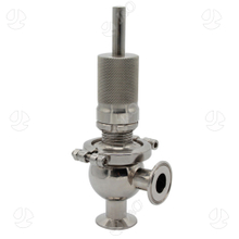 Sanitary Stainless Steel Clamped Relief Safety Valve