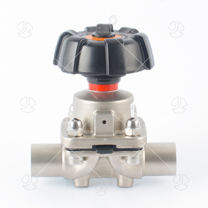 Sanitary AISI316L Manual Welding Membrane Diaphragm Valve
