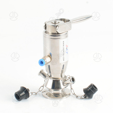Sanitary Stainless Steel Manual And Pneumatic Aseptic Sampling Valve